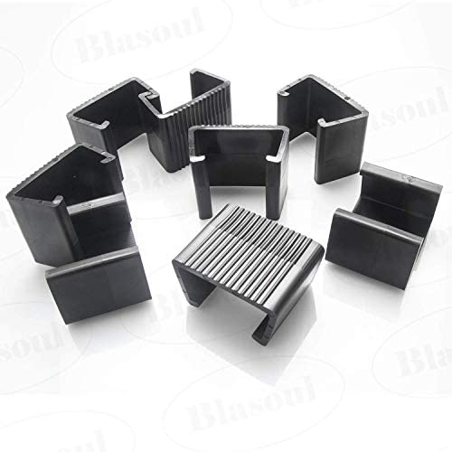Best Outdoor Patio Wicker Furniture Clips Blasoul 8PCS Sectional Sofa Rattan Furniture Clips Chair Fasten