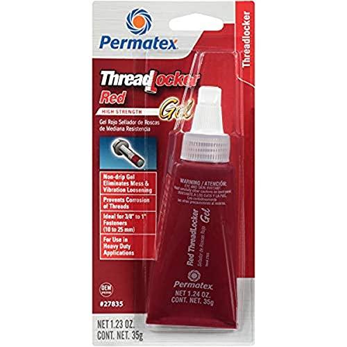 Permatex 27835 High Strength Red Threadlocker Gel 35g