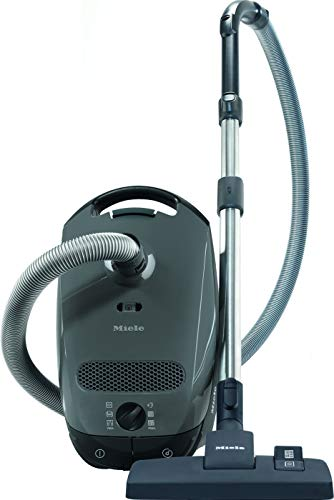 Miele Grey Classic C1 Pure Suction Canister Vacuum Cleaner,...