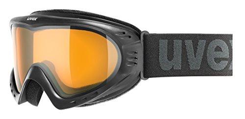 Uvex Cevron Skibrille, black, One size