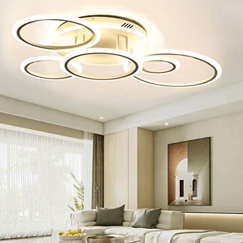 Modern Led Ceiling Light Fixture for Living Room Bedroom Dimmable...