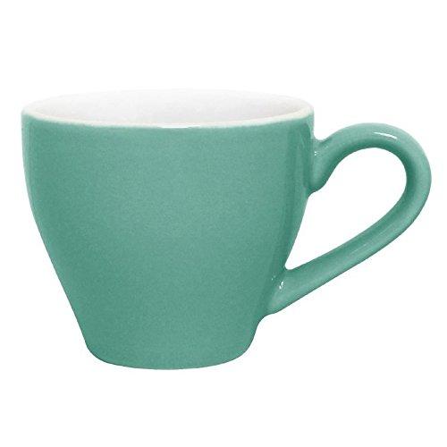 Olympia Lot de 12 tassesà café en porcelaine Aqua 100 ml