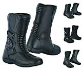 Best Motorcycle Boots - RXL Genuine Leather Motorcycle Boots Waterproof Motorbike Shoes Review