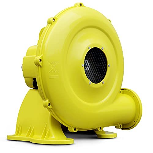 OZIS 750W Air Blower, Pump Fan Commercial Inflatable Bouncer Blower, Perfect for Inflatable Movie Screen, Inflatable Paint Booth, Inflatable Bounce House, Jumper, Bouncy Castle