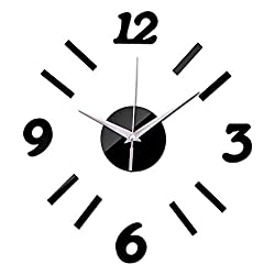 Wall Clock Silentnew Hot Wall Clock Home Decoration Still Life Wall Stickers Quartz Modern Acrylic Mirror Living Room Sofa Background Clocks Suitable for Office