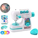 JUSTDOLIFE Mini máquina de Coser eléctrica Crafting Machine Pretend Play Toy para niños