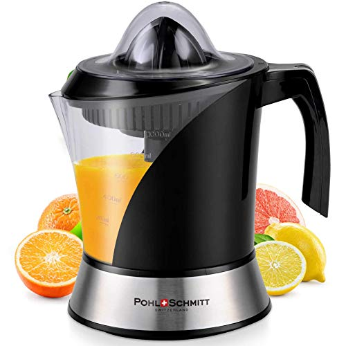 Pohl+Schmitt Deco-Line Citrus Juicer Machine Extractor - Large Capacity 34oz...