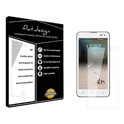 1x Bildschirm Schutz für Hisense HS-U971AE Screen Bildschirmschutz Schutzfolie kristallklar Flexible Folie, robust wie Glas. Qualität, Nachhaltigkeit und Fairness Made in Germany