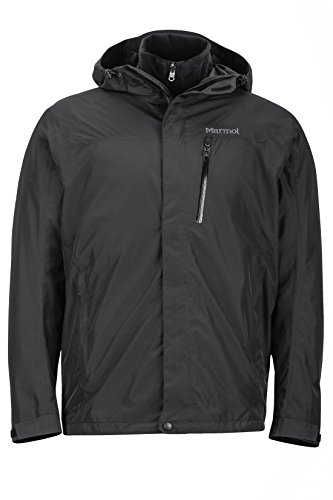 Marmot Ramble Component Jacket Homme, Black, FR (Taille Fabricant : XL)
