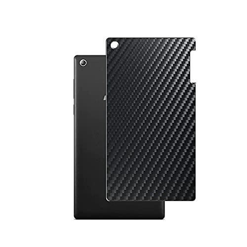 VacFun 2 Piezas Protector de pantalla Posterior, compatible con lenovo TAB2 A7-10 a7-10f 7' TAB 2, Película de Trasera de Fibra de carbono negra Skin Piel