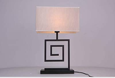Lámpara de mesa de madera Charles Leclerc: Amazon.es: Iluminación