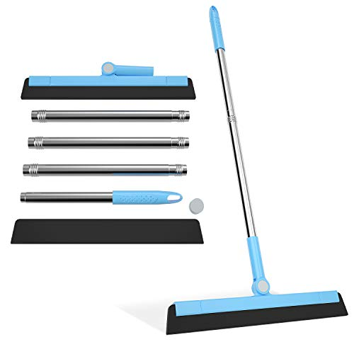 Tensun Floor Squeegee, Window Cleaners Squeegee Connect Point Draaibaar 180° Totale lengte 59