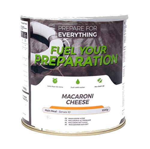 Makkaroni Käse- 25 Jahre MHD - Langzeitvorrat Notvorrat -Fuel your preparation, Makkaroni Käse 1000g