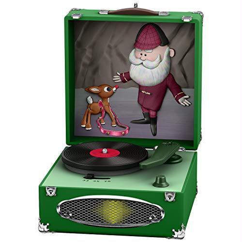 Hallmark Keepsake Christmas Ornament 2020, Rudolph the Red-Nosed Reindeer Jingle, Jingle, Jingle, Musical With Light