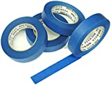 4pk 1' Blue Painters Tape Masking Clean Release 30 Day Removal 24mm 60yd