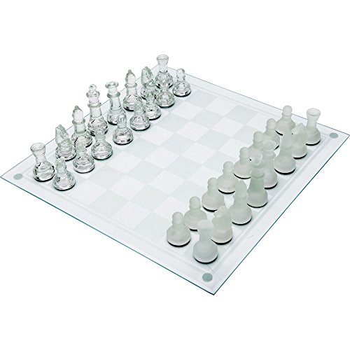 Maxam 33PC Glass Chess Set [Toy]