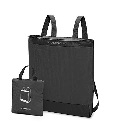 Moleskine Tasche Journey Packable Daypack faltbar und zusammenklappbar in praktischem Beutel, Pastellgrau