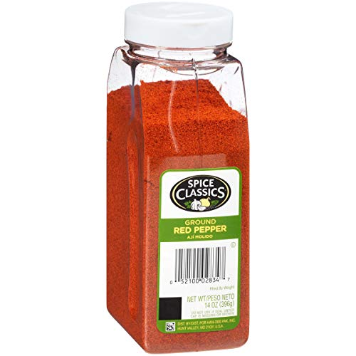 Spice Classics Ground Red Pepper, 14 oz