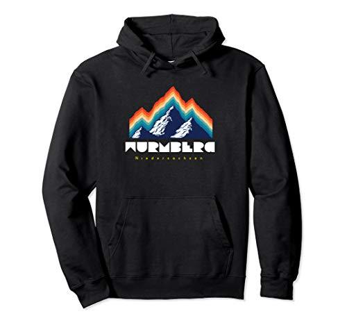 Wurmberg Niedersachsen - Deutschland Retro 80s Ski Geschenk Pullover Hoodie