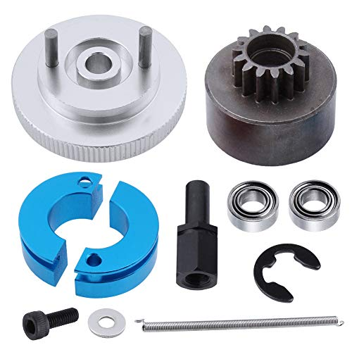 Hobbypark RC 14T Clutch Bell + Shoes with Spring +Flywheel Assembly Kit Set for Redcat Volcano S30 SH-18 VX-18 Nitro Engine Parts