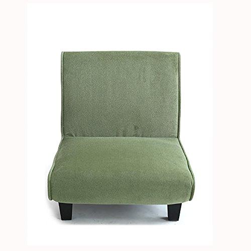 XING ZI LAZY SOFA G-Y Canapé Paresseux, Unique Canapé en Tissu Créatif, Élégant Canapé Chambre À Coucher (Peut Être Plié) (Couleur : Vert Clair)