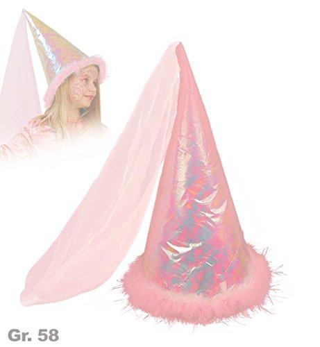 Feen-Hut, Gr. 58 cm, Karneval, Mottoparty, Fasching