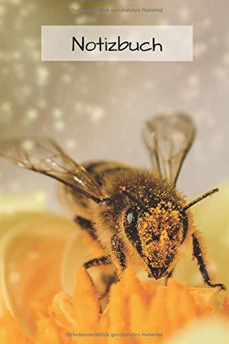 Imker Notizbuch: Tagebuch / Journal für die Imkerei - Notizbuch Bienen Motiv | auch perfekt als Geschenk