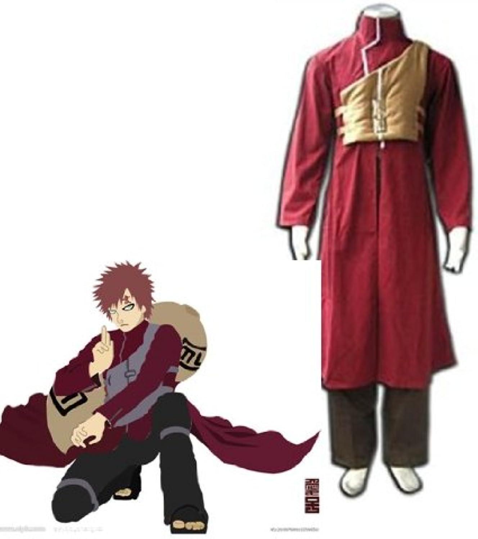 disfrutando de sus compras SUNKEE Japonés Anime Naruto Vol Vol Vol 2 CosJugar - Gaara cosJugar traje Roja , tamaño M (altura 163-168 cm, peso 50-60 kg)  conveniente