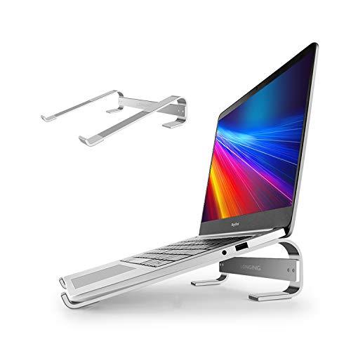 LONGING Supporto PC Portatile Alluminio per ASUS/Lenovo/Acer/dell XPS/HP/MacBook Air PRO/Samsung Chromebook/Supporti Tablet Notebook pc Computer Stand
