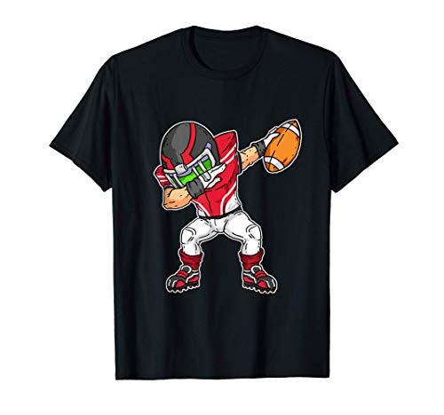 Dab Idea Del Regalo Dabbing Fútbol Americano Camiseta