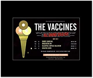 Music Ad World Vaccines - UK Tour 2012 Mini Poster - 21x13.5cm