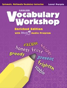 Vocabulary Workshop ©2011 Level Purple (Grade 2) Student Edition
