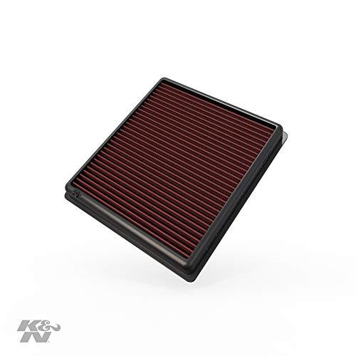 K&N 33-2990 Motorluftfilter: Hochleistung, Prämie, Abwaschbar, Ersatzfilter, Erhöhte Leistung, 2011-2019 (114d, 116d, 116i, 118d, 118i, 120d, 125d, 218d, 218i, andere ausgewählte modelle)
