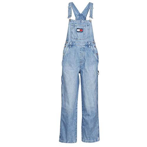 Tommy Jeans Damen Latzhose blau 28/32