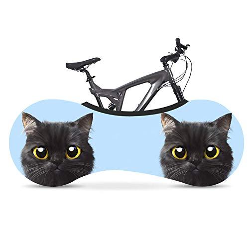 SBDLXY Funda Protectora de Bicicleta, patrón de Mascota Bicicleta a Prueba de Polvo/antisuciedad/protección Solar/Funda Protectora de neumáticos, Adecuada para Bicicletas de montaña, etc,
