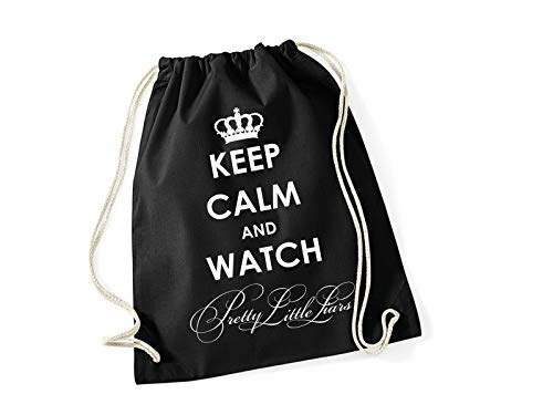 Pretty Little Liars Turnbeutel Rucksack mit Spruch Keep Calm