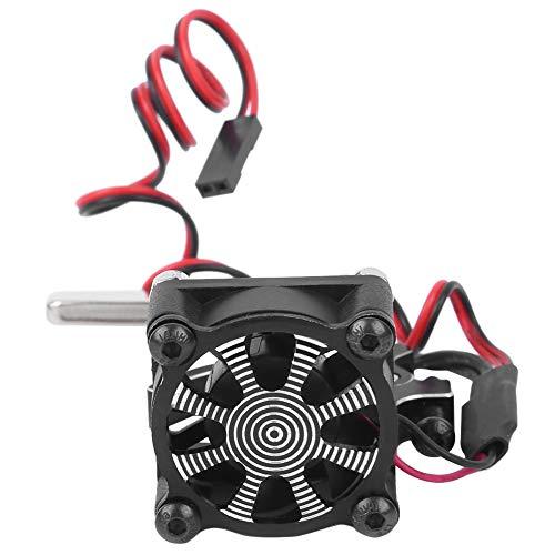 Changor Térmico Motor Disipador de Calor Enfriamiento Ventilador, 30x30mm Aluminio Aleación y El plastico PC 1 5-11v por 54055036503660