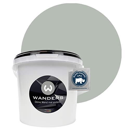 Wanders24 Pintura de pared pintura de pizarra mate (3 litros, Gris pluma) lavable, creativo, escribible, pintura de pizarrón