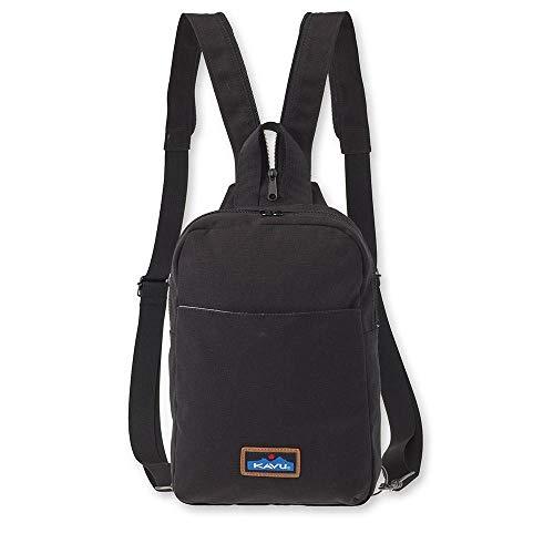 KAVU Forlynne Convertible Backpack Sling for Women Crossbody Shoulder Bag - Black