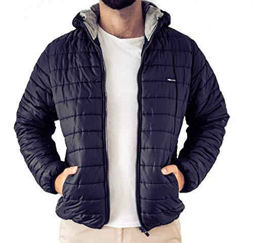 OZYOL bomberjack donsjack Basic Down Jacket gewatteerde jas met capuchon outdoor heren winterjas