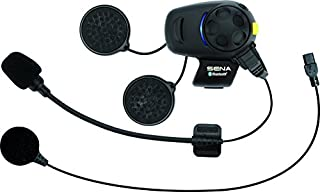 Sena SMH5-FM-UNIV Bluetooth Headset and Intercom with Built-in FM Tuner for Scooters/Motorcycles with Universal Microphone Kit, Black, Single (B00SHW5QVQ)   Amazon price tracker / tracking, Amazon price history charts, Amazon price watches, Amazon price drop alerts
