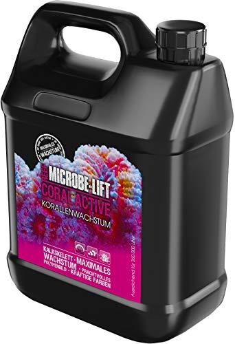 MICROBE-LIFT Coral Active – Augmente la croissance du corail et la splendeur des couleurs pour tout aquarium d'eau de mer
