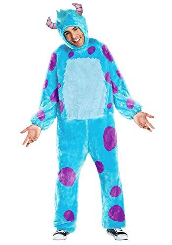 Plus Size Sulley Costume 2X Light Blue