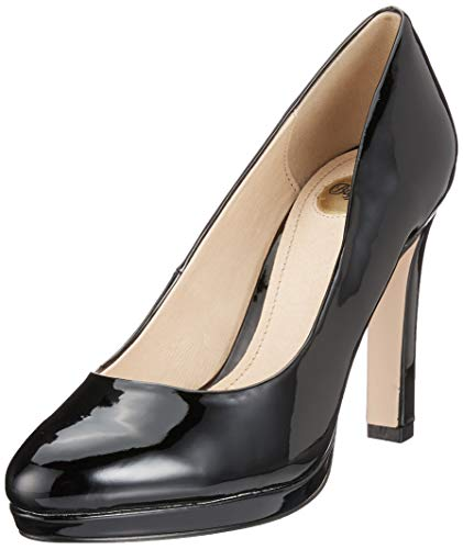 Buffalo Damen H748-1 New Pumps, Schwarz (Black 01 000), 39 EU