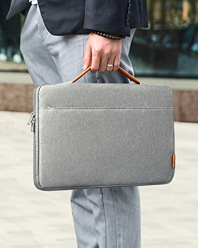 Inateck Tasche Hülle Kompatibel mit 16 Zoll MacBook Pro 2019/15,4 Zoll MacBook Pro Retina, Notebook Laptop Sleeve Case, Dunkelgrau