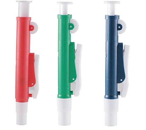 Juego de 3 bombas de pipeta: 25 ml, 10 ml, 2 ml