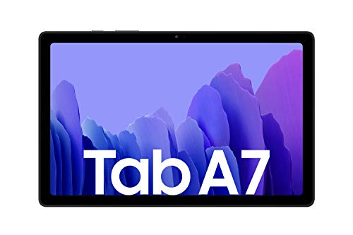 Samsung Galaxy Tab A7, Android Tablet, WiFi, 7.040 mAh Akku, 10,4 Zoll TFT Display, vier Lautsprecher, 32 GB/3 GB RAM, Tablet in Grau