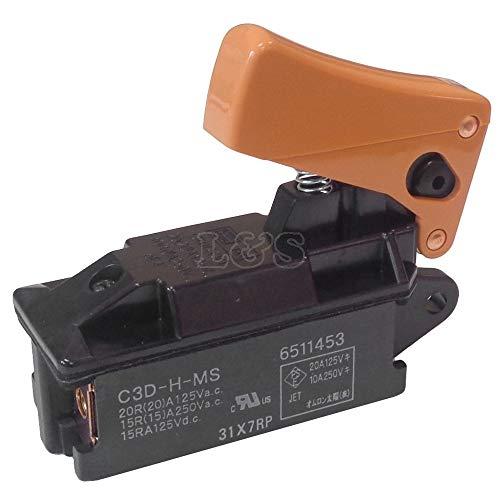 Interruptor para martillo de demolición Makita HM1200 – 651145-3