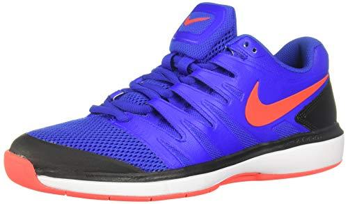 Nike Air Zoom Prestige CPT, Chaussures de Tennis Homme, Multicolore (Racer Blue/Bright Crimson/Black/White 401), 43 EU
