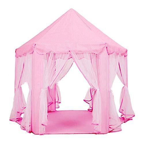 Juguetes plegable castillo de la princesa Carpa Niños tienda rodeo niños y niños en el interior fuera de casa del arco iris